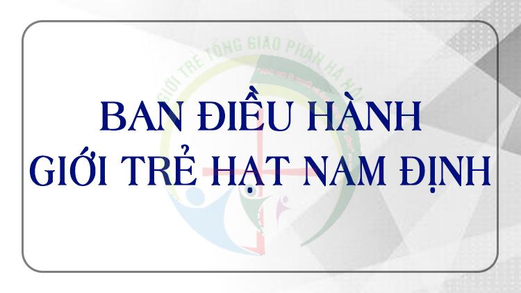 Giới Trẻ Giáo Hạt Nam Định