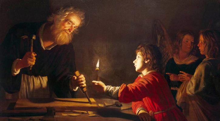 Một người cha trong bóng tối