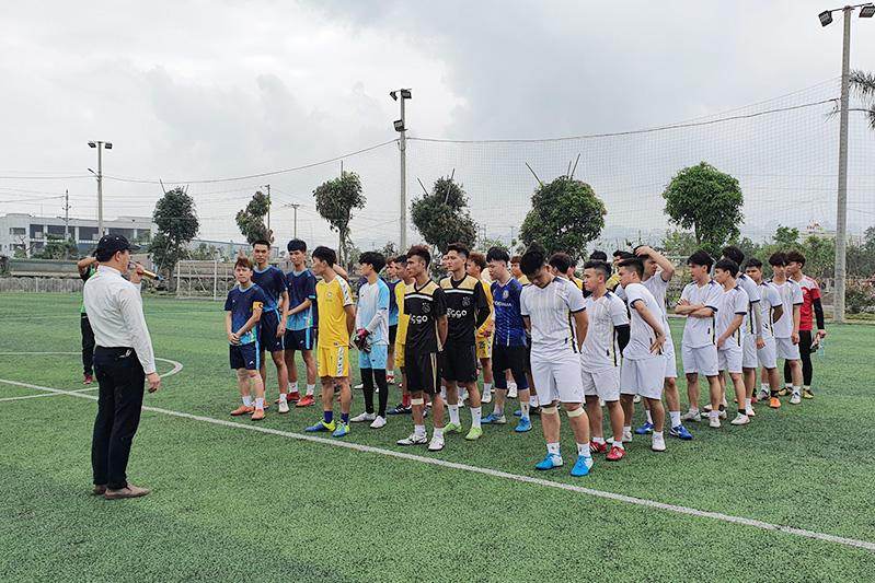Bán kết Giải bóng đá Giới trẻ TGP Hà Nội cup