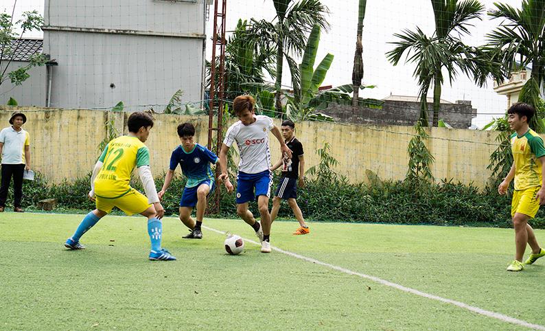 Giao hữu bóng đá Giới trẻ Giáo hạt Mỹ Đức - Hòa Bình