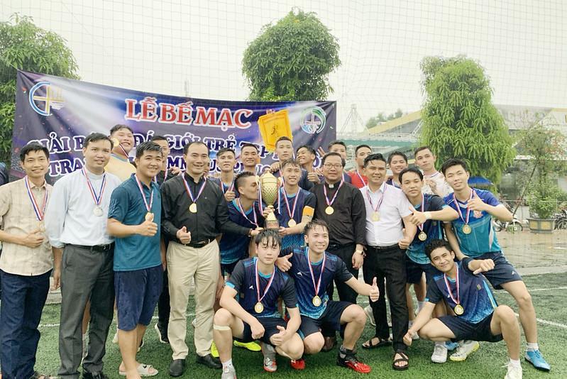 Chung kết giải bóng đá Giới trẻ TGP Hà nội CUP Emaus Phục sinh năm 2021