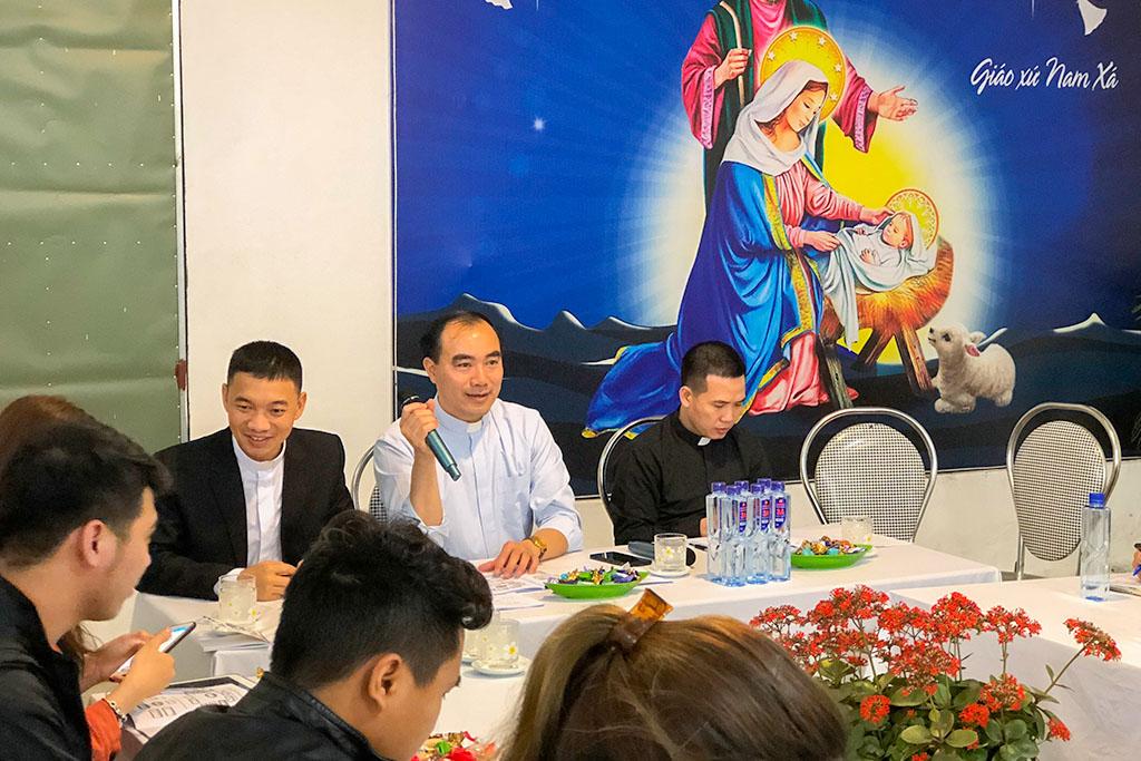Giới trẻ Giáo hạt Lý Nhân họp mặt đầu Xuân 2021
