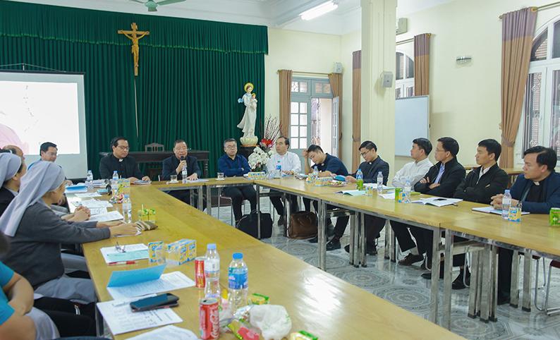 Họp mặt Ban mục vụ Giới trẻ Tổng giáo phận Hà Nội 2021